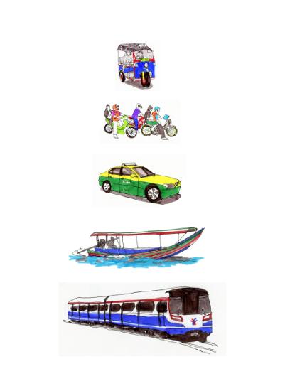 art prints - Bangkok Fleet by NomadicPoetryStudio