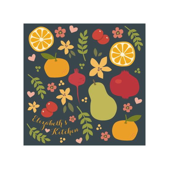 art prints - Harvest Kitchen by Four Wet Feet Studio