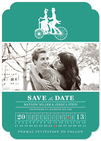save the date cards - Two Seater by Dreaming Inspirations