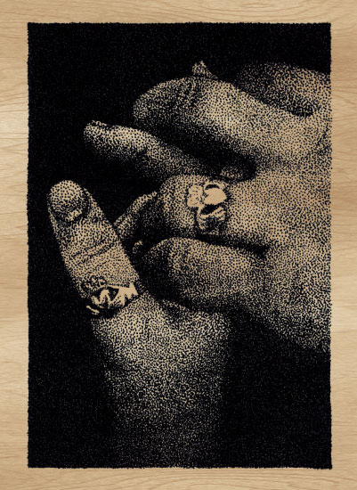 art prints - Pointillist Promise by Nixie