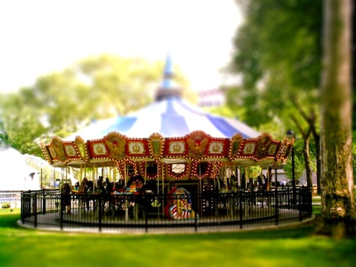 art prints - carousel by Atom Gunn