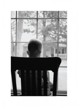 Quiet Moment by the Window