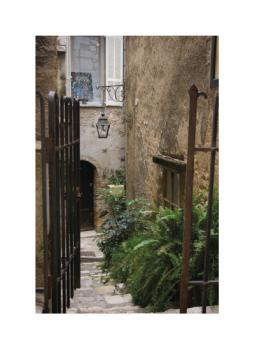 French Gated Entryway