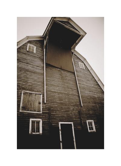 art prints - Nebraska Barn by Jacquelyn Hardies