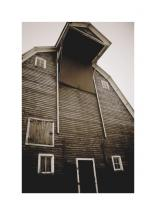 Nebraska Barn by Jacquelyn Hardies