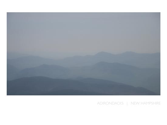 art prints - Adirondacks   |   New Hampshire by Grey Circle