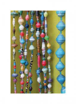 Uganda Paper Bead Necklaces 1