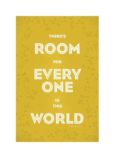 art prints - Room For Everyone by Sharon Rowan