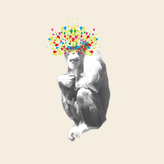 art prints - monkey see by rene mijares