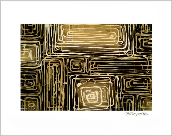 art prints - Mykonos by Peter Simpson Cook