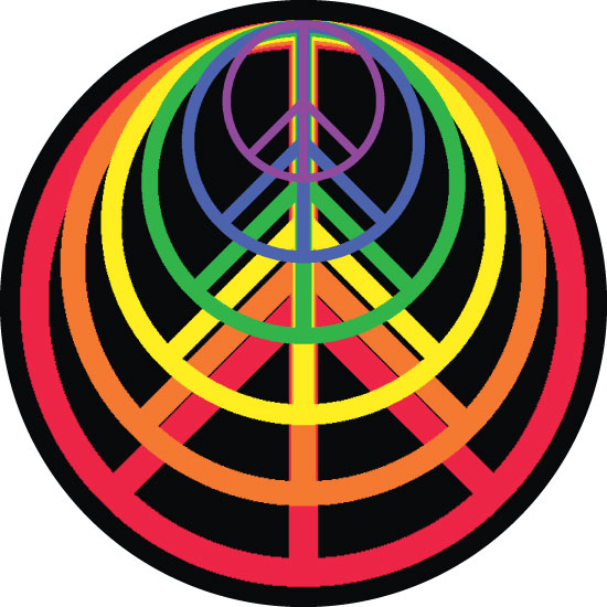 art prints - Peace Rainbow by Raymond Stone