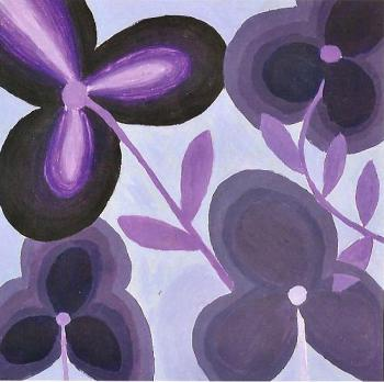 Blooms in Purple