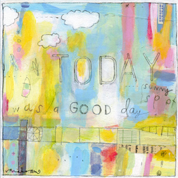 art prints - today was a good day by sarah ahearn bellemare