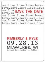 Type Love by Kimberly Starasinich