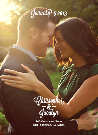 save the date cards - Christopher&Jacalyn by Joseph Roldan