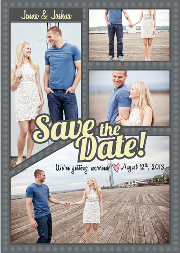save the date cards - Bubbles of Love by Trisha Allex