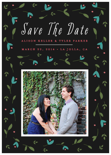save the date cards - Garden Celebration by Monica Schafer