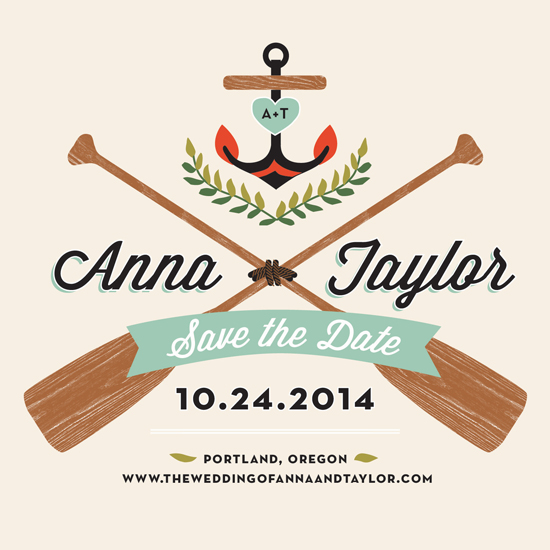 - Campy Love Save the Date by Trista Sydloski-Tesch