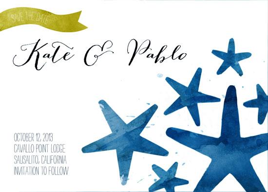 save the date cards - Shoreline by Jeni Paltiel