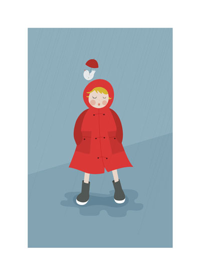 art prints - Rainy Day by Danielle Hartgers