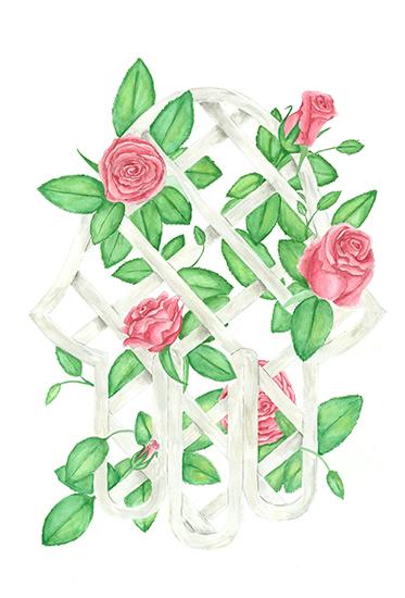 art prints - Lucky Roses by Denise Design