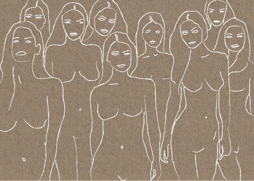 art prints - sorority by Marabou Design