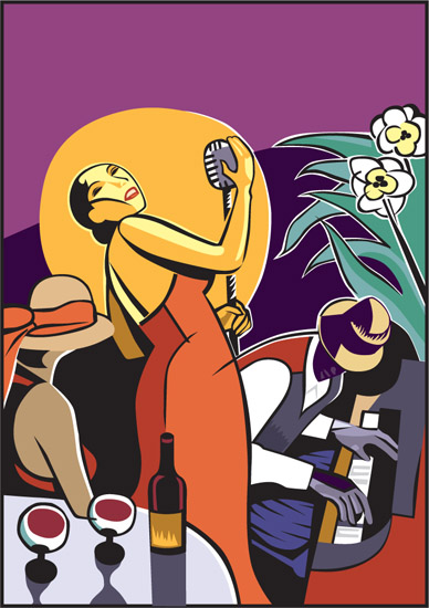 art prints - summer jazz by Scott Erwert