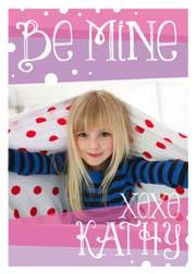 valentine's cards - Girls Classroom Card by Christina Novak