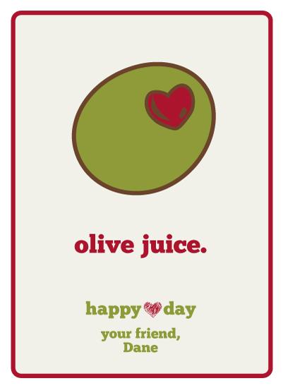 olive designs valentines cards olive juice at mintedcom