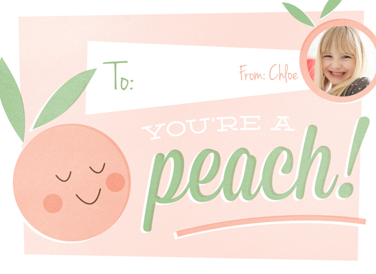 valentine's cards - You're a Peach by Chryssi Tsoupanarias