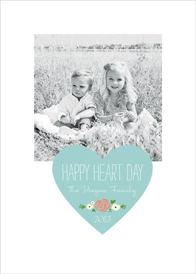 valentine's cards - Happy Heart Day Heart by Erin Deegan