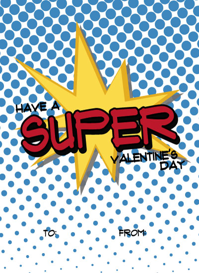 valentine's cards - Super Totally Awesome by Shannon Mayhew