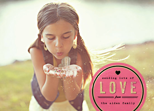 valentine's cards - Seal of Modern Love by Serenity Avenue