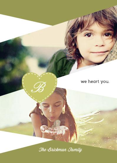 valentine's cards - We Heart You by Sara Batman