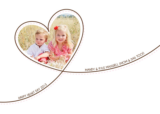 valentine's cards - One Heart by Jennifer Gregory