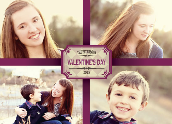 valentine's cards - Ribbon Wrapped Valentine by Sara Batman