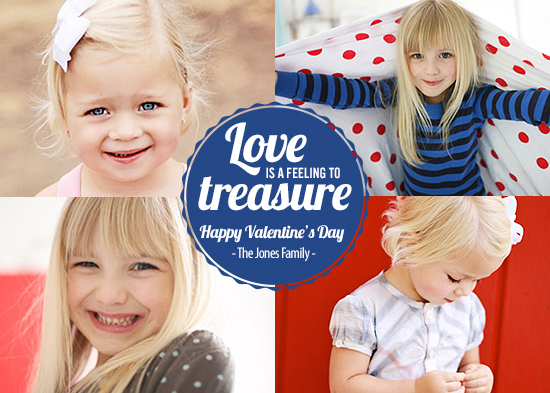 valentine's cards - Treasure the Love Valentine's Day Card by Ruth Faria Costa