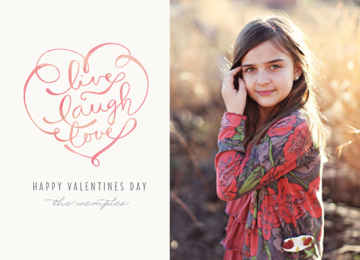 valentine's cards - Live, Laugh, Love by Lori Wemple