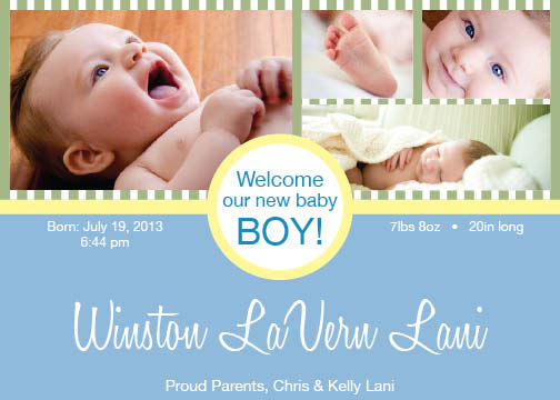 birth announcements - New Identity by Kelly Lani