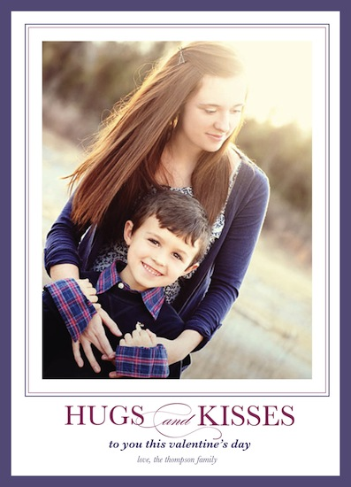 valentine's cards - Hugs & Kisses by Brittany Warren