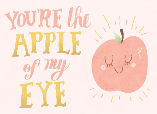 valentine's cards - An Apple a Day by Emma Trithart