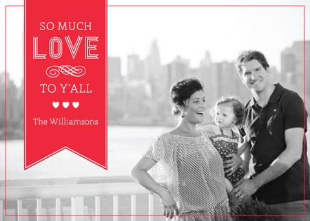 valentine's cards - Love, Y'all by Erin Jones Turner