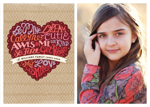 valentine's cards - Candygram by Griffinbell Paper Co.