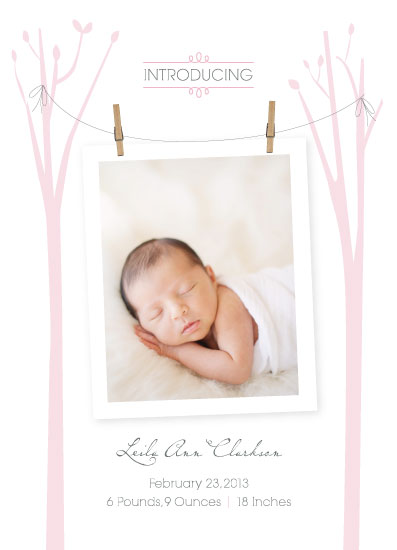 birth announcements - Enchanted Arrival by Sooki Carrano