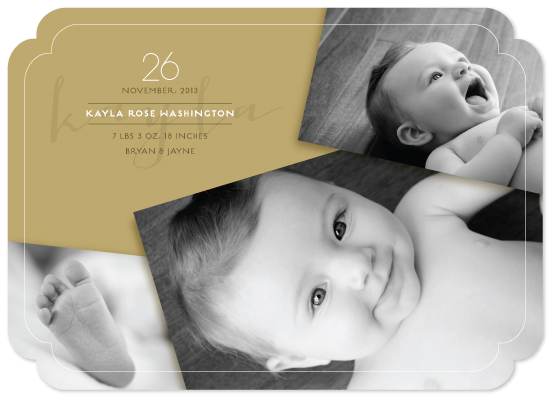birth announcements - Three In A Frame by fatfatin