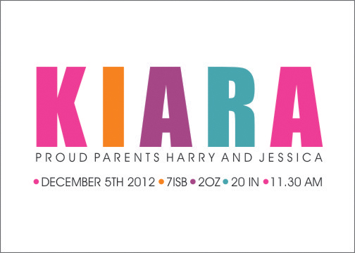 birth announcements - Introducing  by Shaz