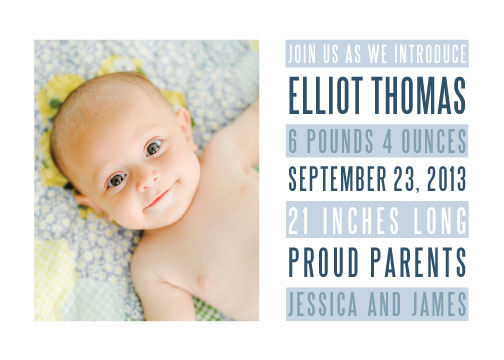 birth announcements - Billboard by Katie Wahn