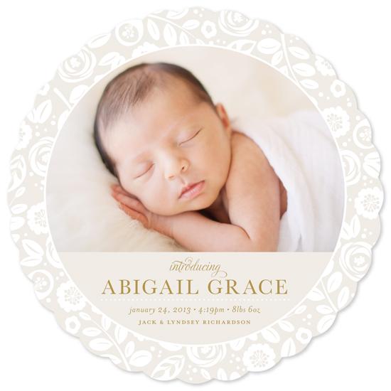 birth announcements - Sweet Garden by Jessica Williams