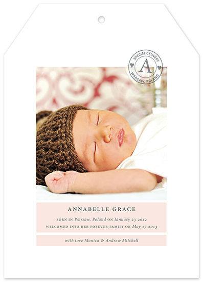 birth announcements - The Most Special Delivery by Jessica Booth