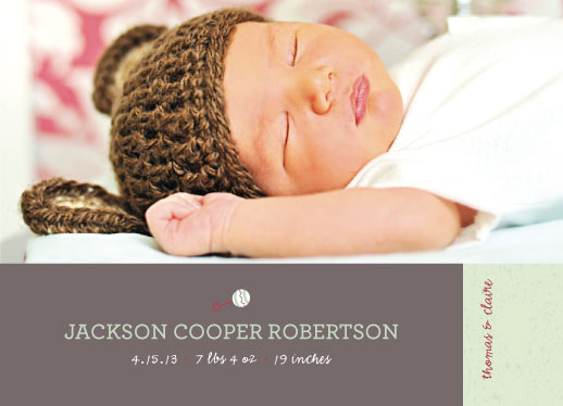 birth announcements - Rattle  by Squareview Studios